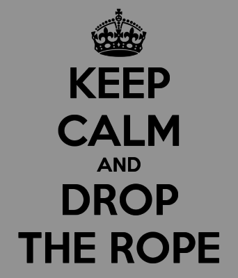 DON'T PICK UP THE ROPE